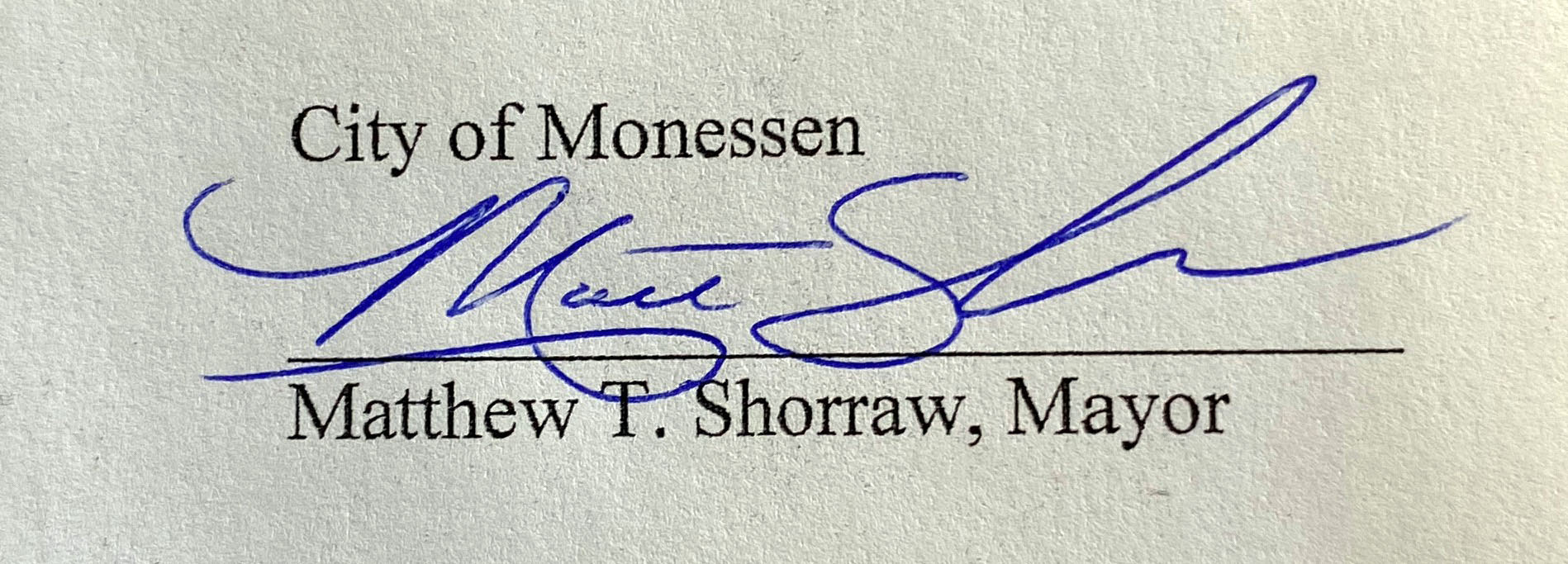 Mayor Shorraw, 2018-Present