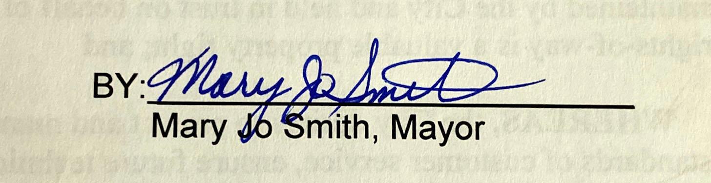 Mayor Smith, 2010-2013